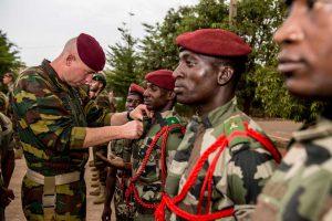 Entraînement para EUTM Mali