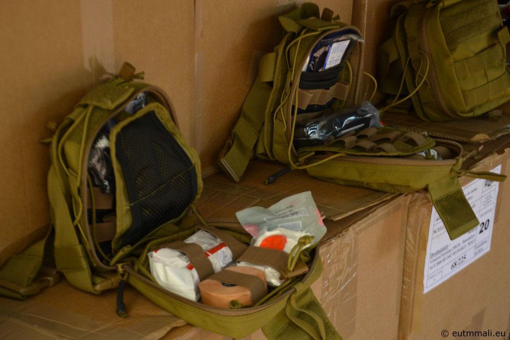 Livraison de matériel médical aux FAMa