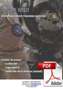 EUTM Mali dossier de presse