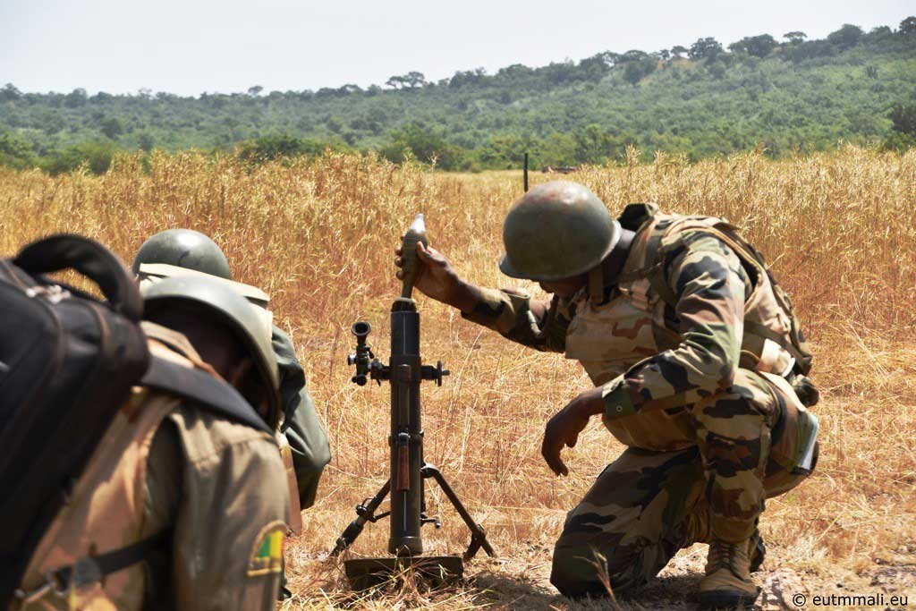 Tir mortier à Kalifabougou