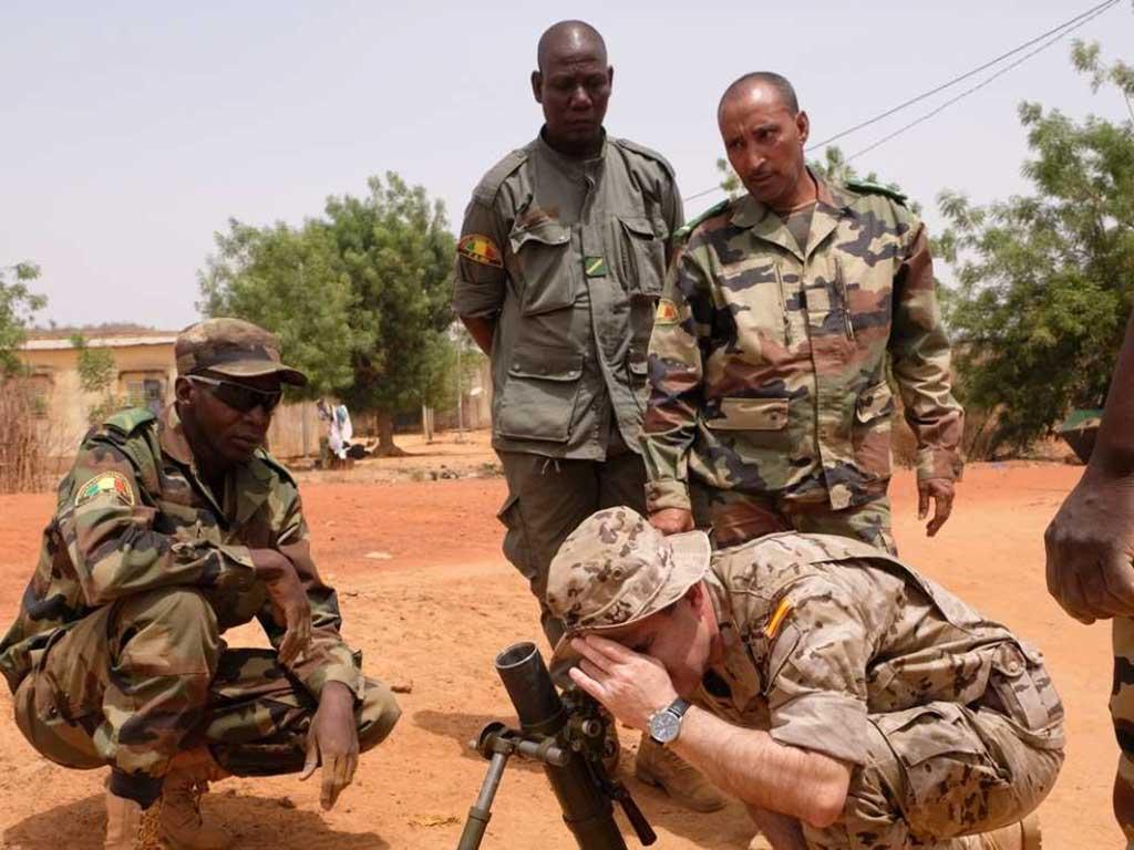 Trg soldats maliens