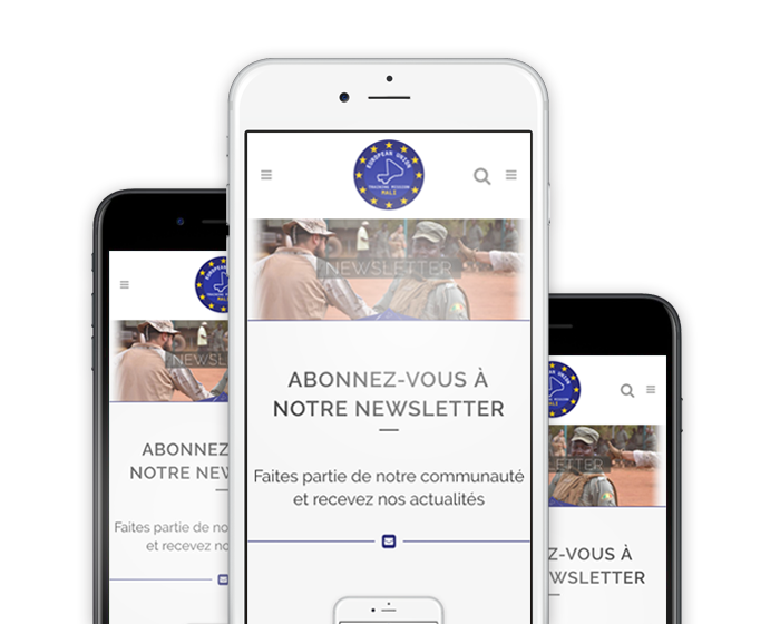 Newsletter smartphone