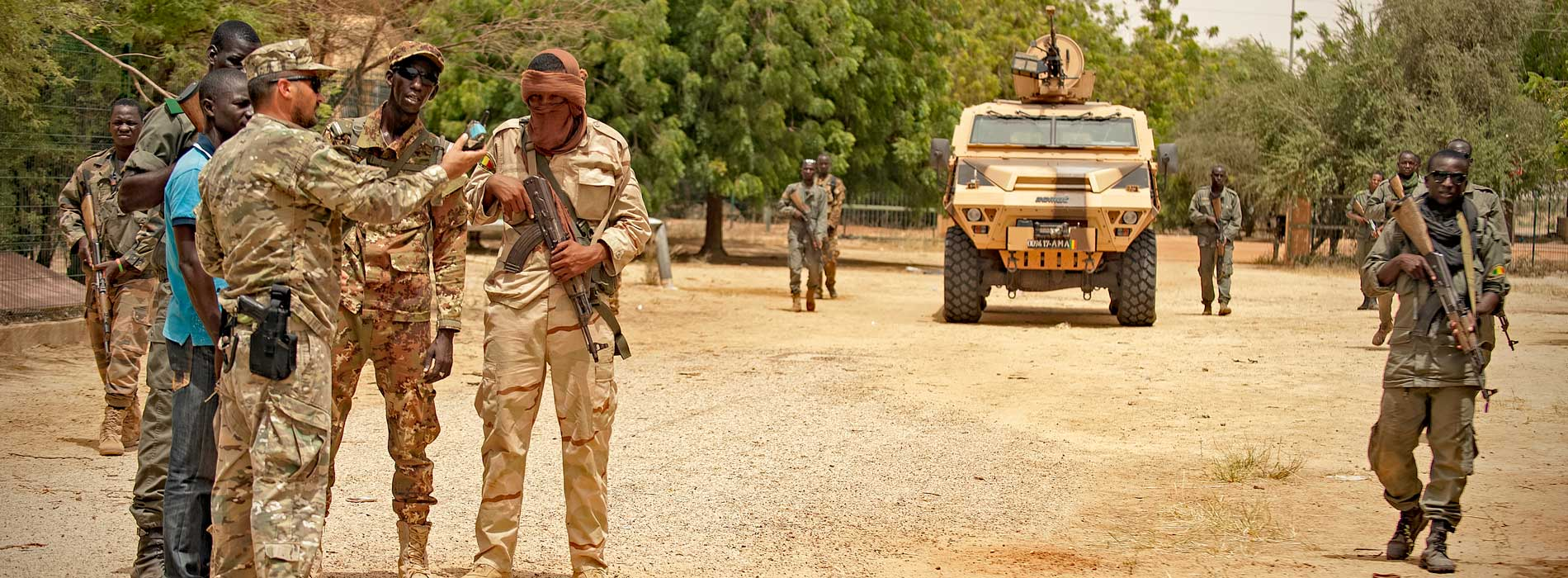 EUTM MALI CONDUCTS TAILOR-MADE TRAINING IN TIMBUKTU