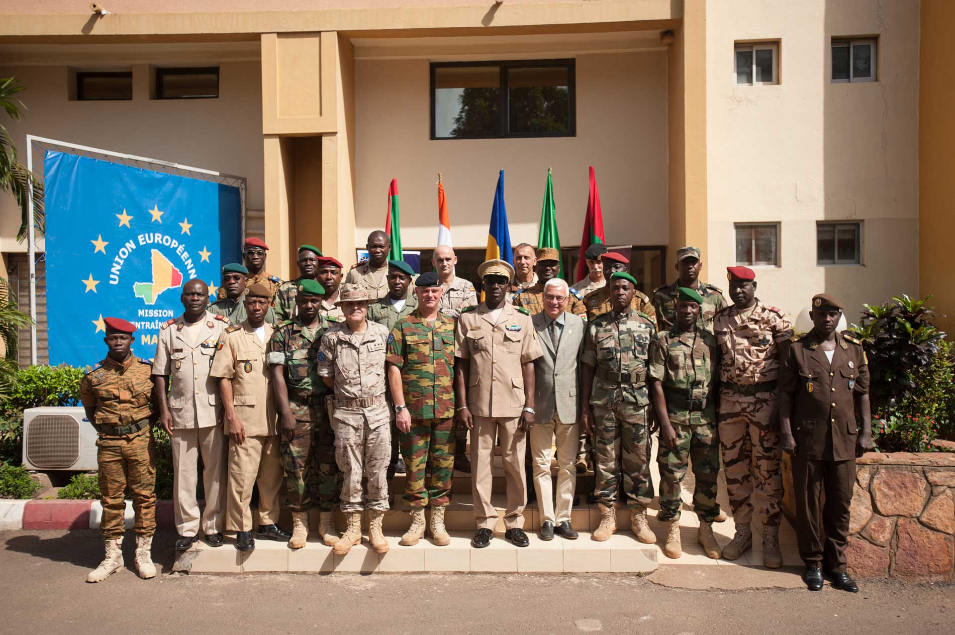 EUTM MALI PROVIDES STAFF COURSE TRAINING FOR THE  JOINT FORCE OF G5 SAHEL