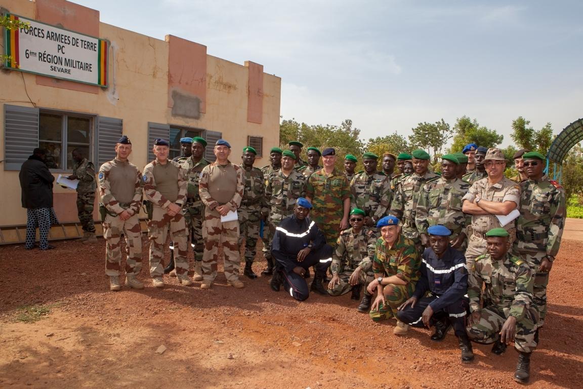 EUTM Mali a organisé son dernier CMATT de 2017 à Sévare.