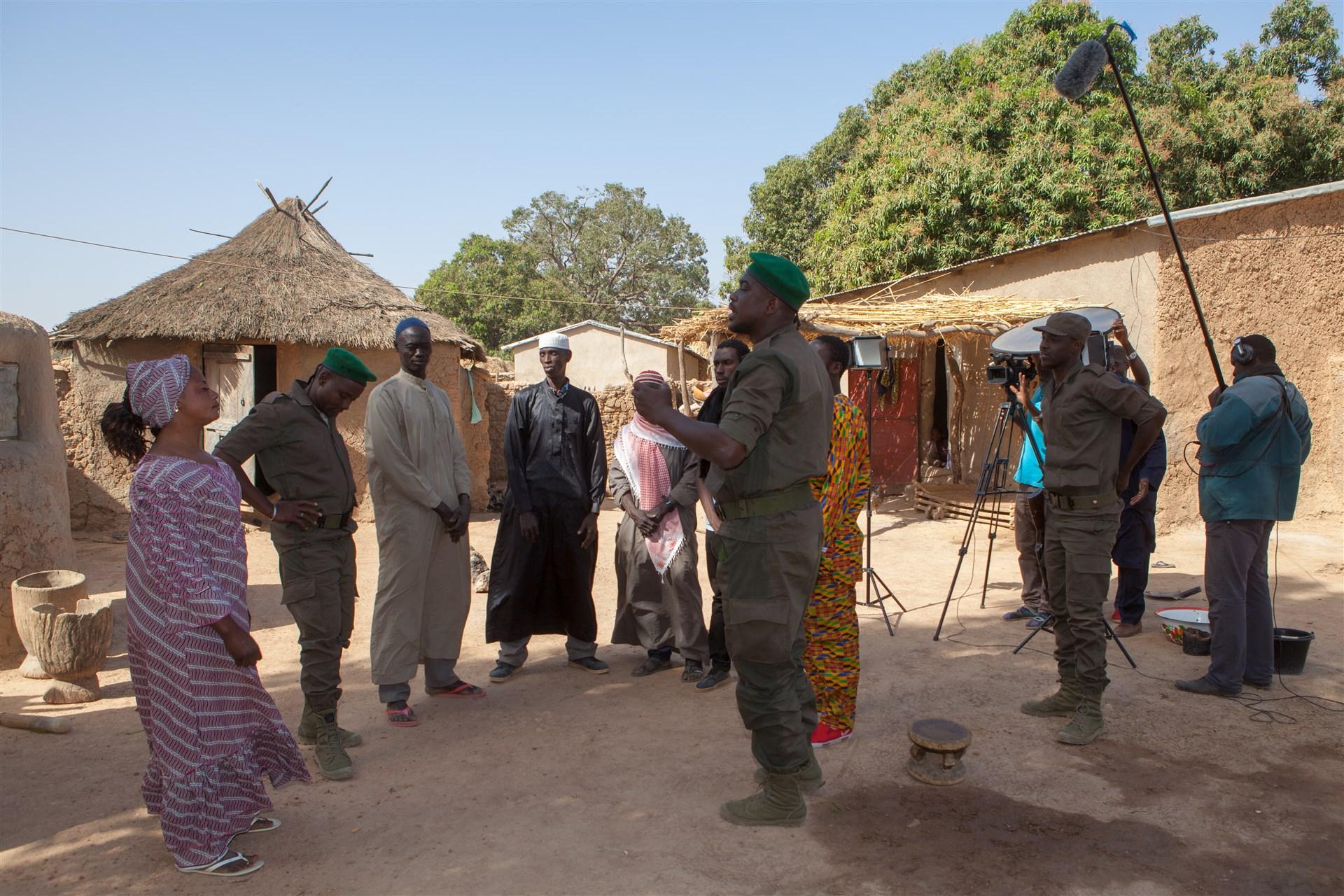 EUTM Mali apporte son soutien aux vidéos du  'DIH'
