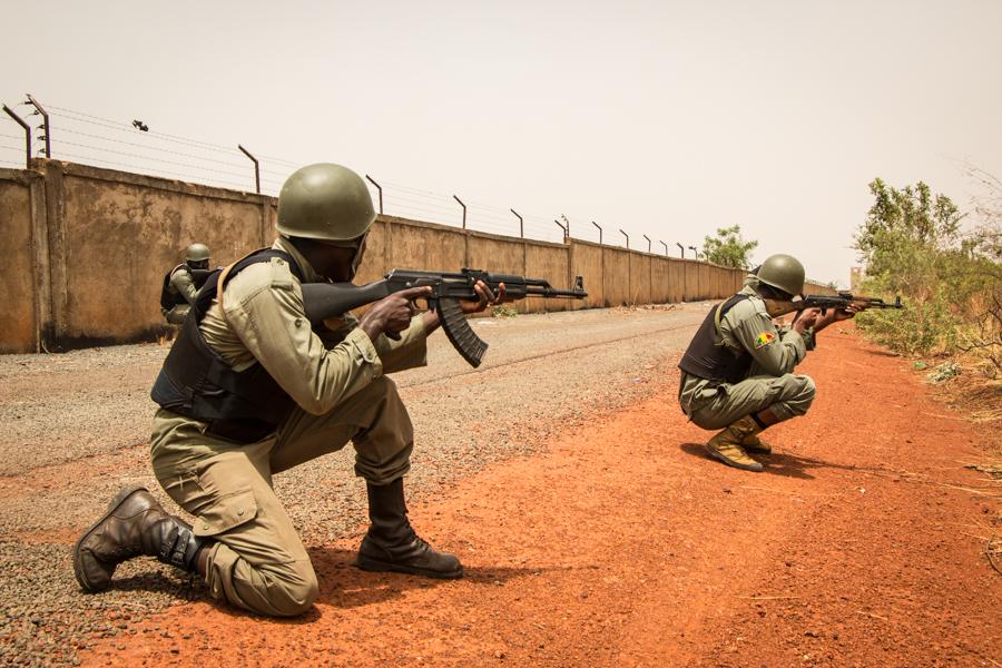 Cours FUSCO, formation de l'armée de l'air malienne pour améliorer la sécurité des bases aériennes.