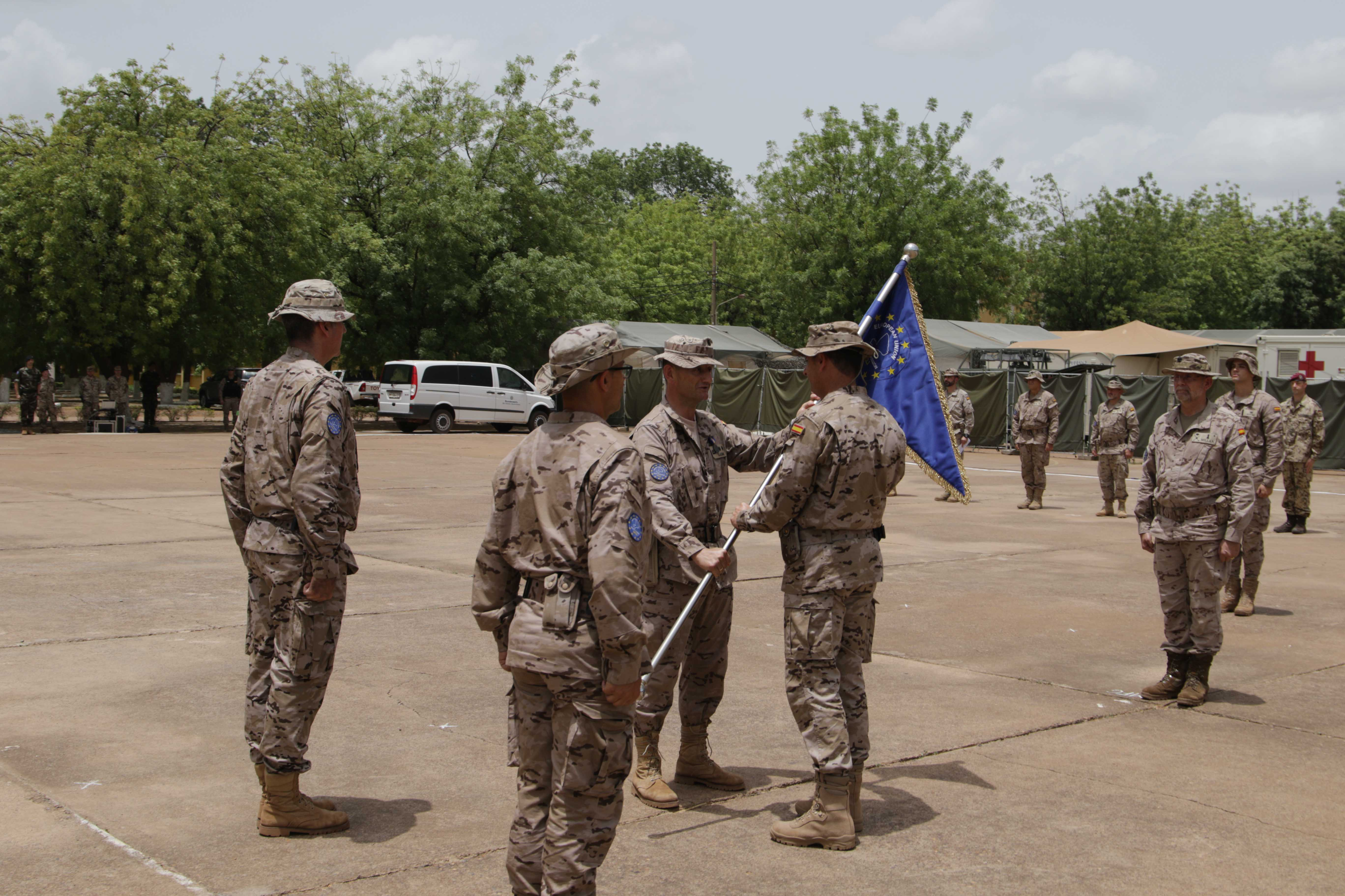 CHANGE OF COMMAND OF THE EDUCATION AND TRAINING TASK FORCE (ETTF) CEREMONY