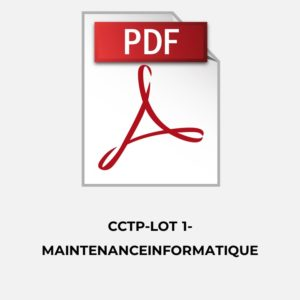 1.Marche Maintenance