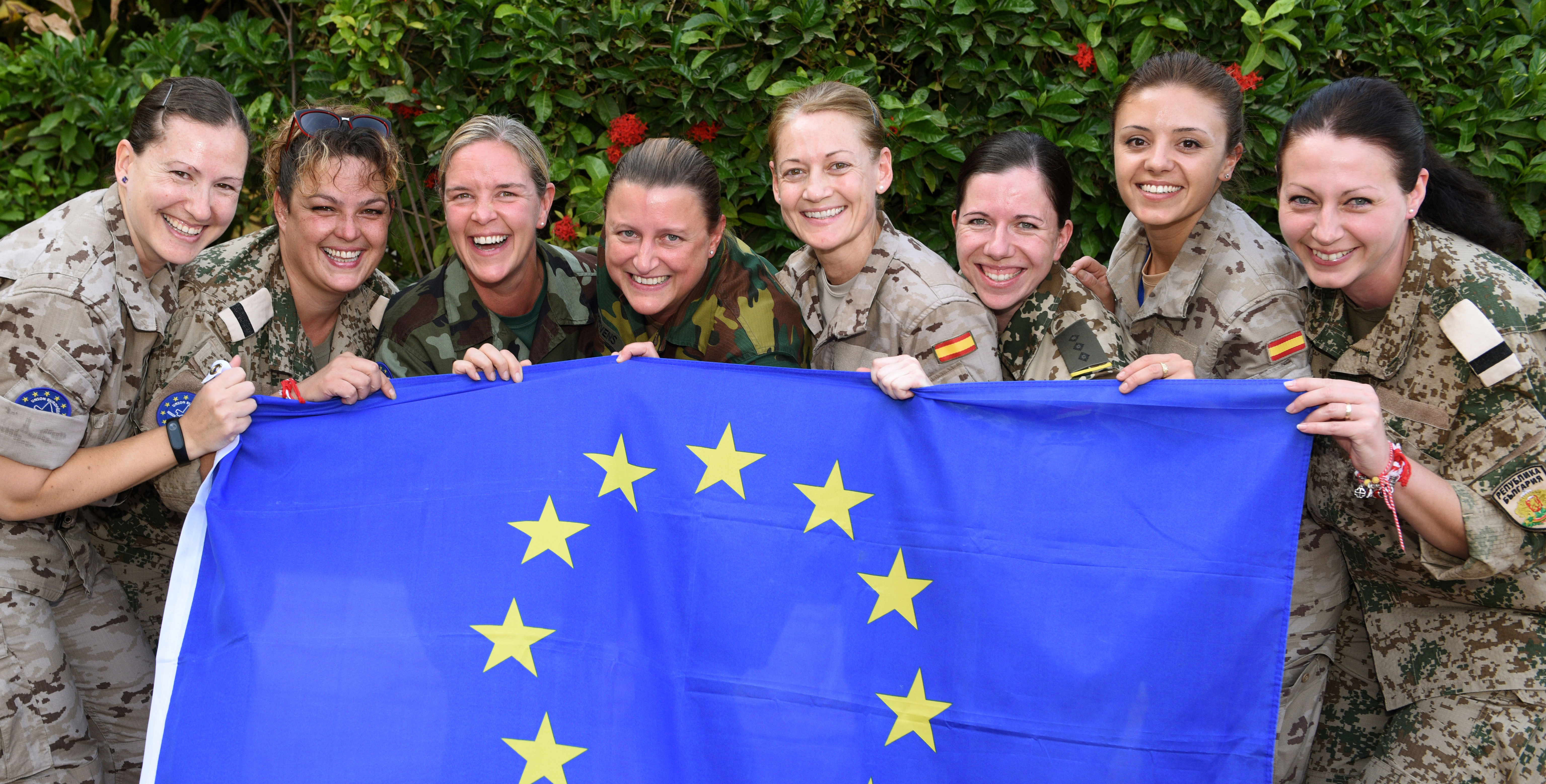 Balance for better: International Women`s Day EUTM-Mali