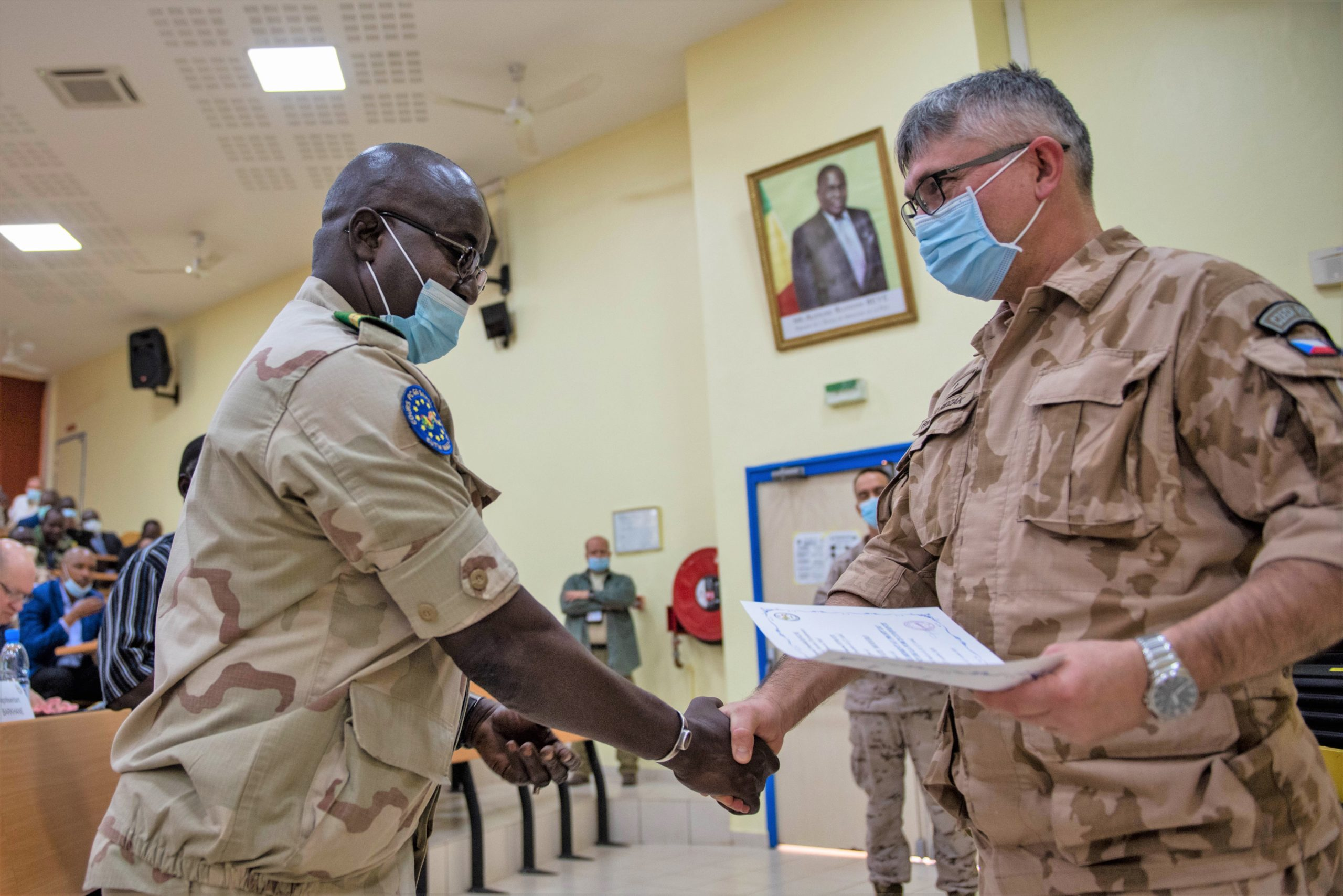 NEW ROTATION FOR G5 SAHEL JOINT FORCE COMMAND CERTIFIED