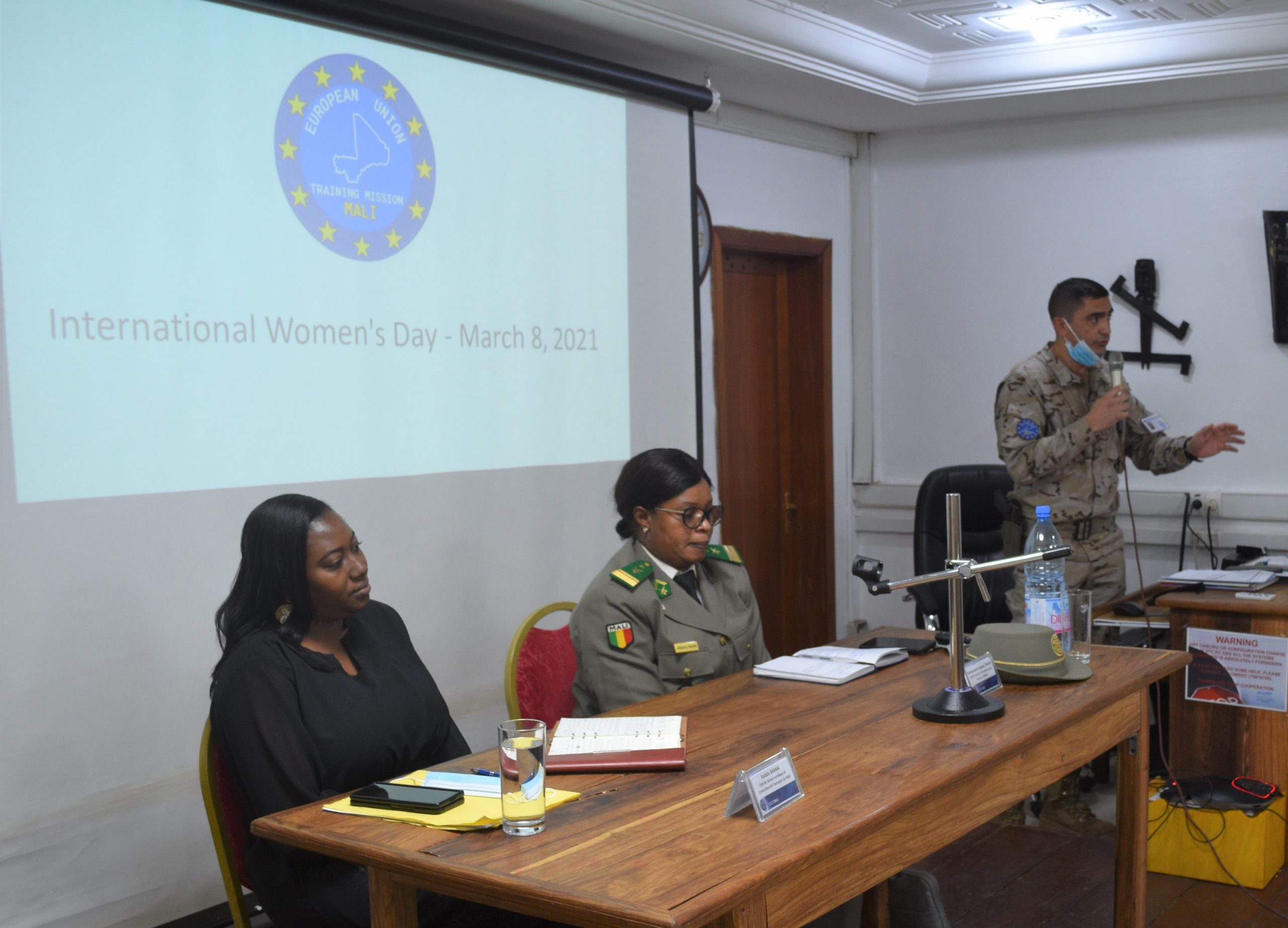 JOURNÉE INTERNATIONALE DE LA FEMME À EUTM MALI