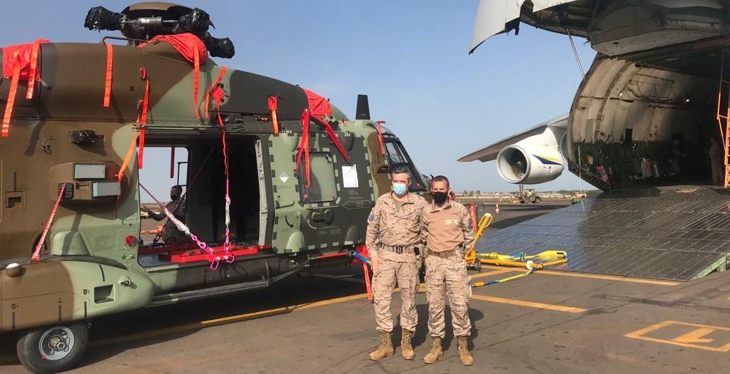 L'unité de transport aérien intra-théâtre arrive à Bamako et rejoint la Mission de formation de l'Union européenne au Mali