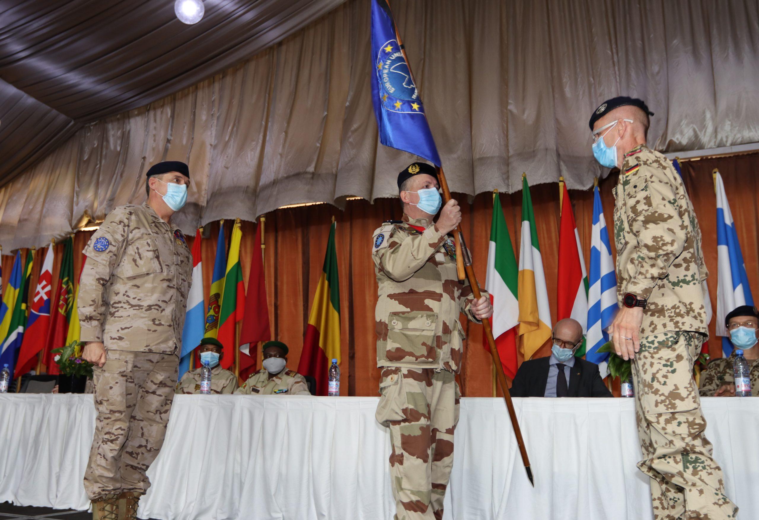 Changement de commandement à la Mission européenne de formation au Mali